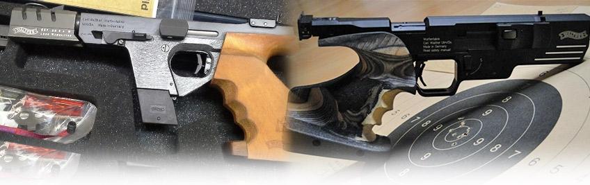 Pistola Walther Expert GSP SSP