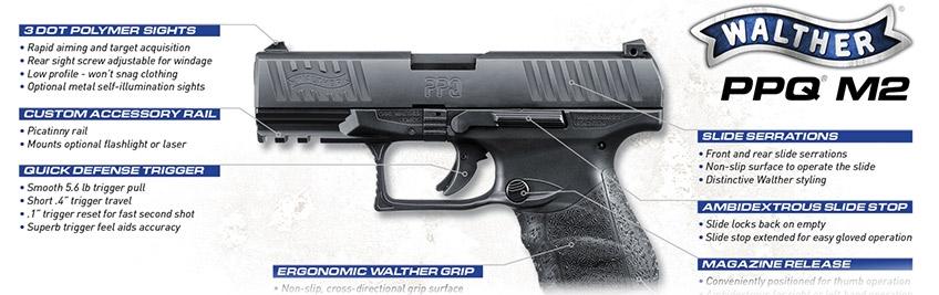Pistola Walther PPQ