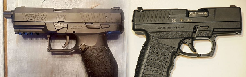 Pistola Walther PPX PPS