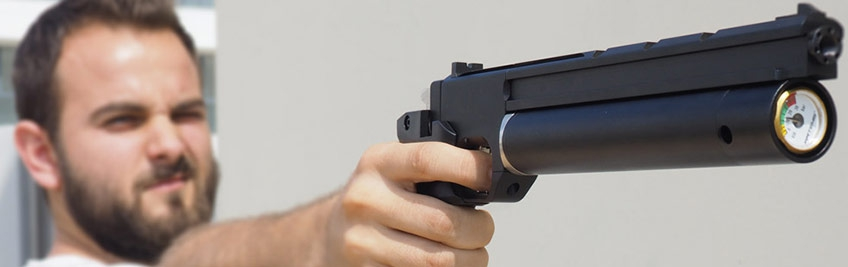 Pistolas de Tiro desportivo