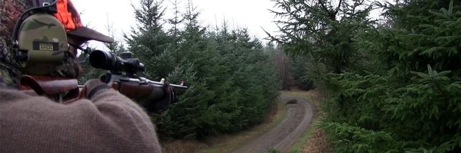 Rifle para batida y montería