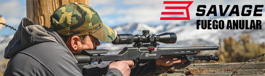 Rifles Savage Fuego anular