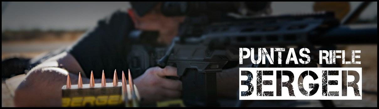 Puntas rifle Berger