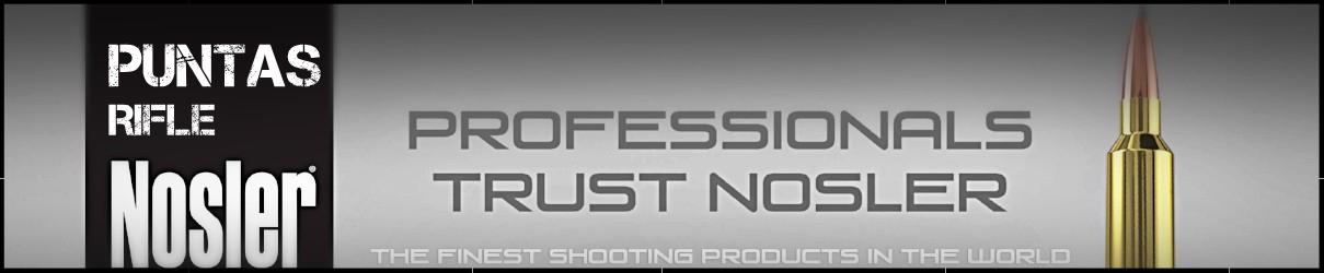 Puntas rifle Nosler