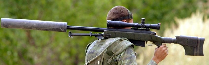 Sniper rifle / atirador