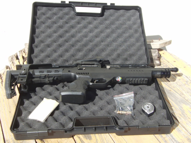 puncher np-01 4,5 caja y arma