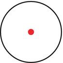 Retícula Punto rojo 5 MOA iluminado, reóstato de 11 posiciones