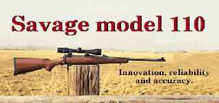 aparicion del rifle savage 110