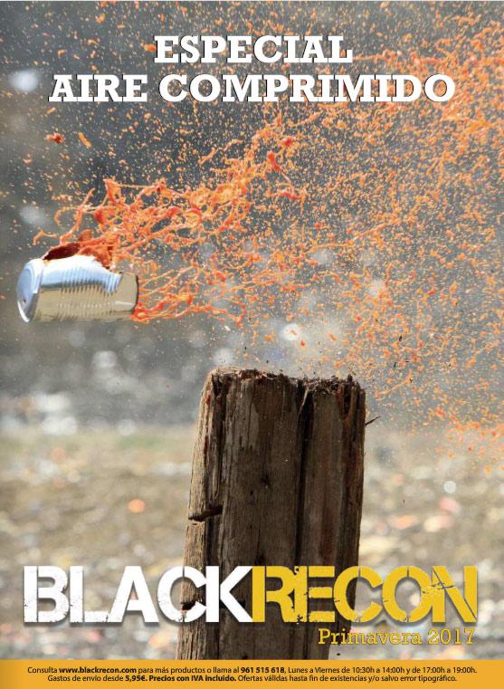 Catálogo de aire comprimido Blackrecon 2017