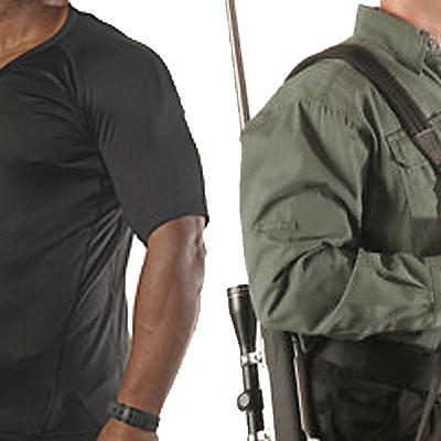 Imagen promocional de las camisas y camisetas Blackhawk