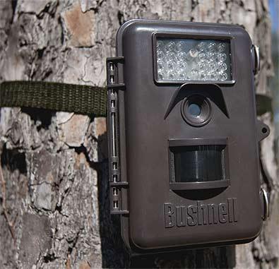 Foto de las cámaras bushnell de caza en funcionamiento