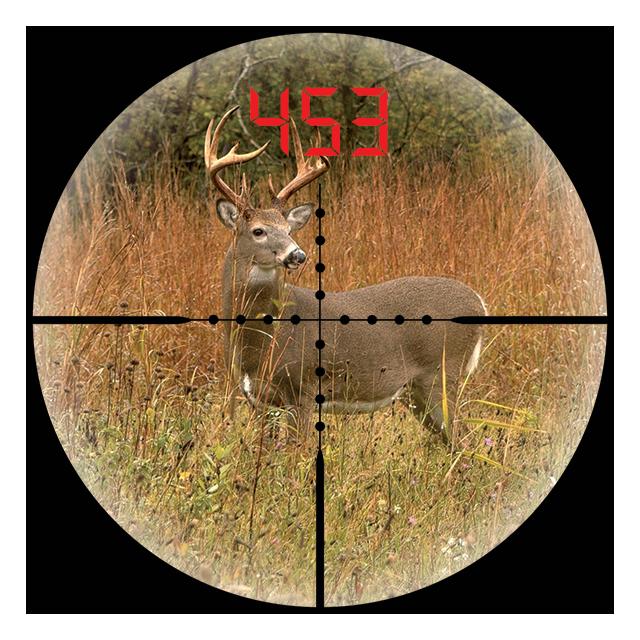 Cálculo de la distancia de objetivo con un telémetro Bushnell