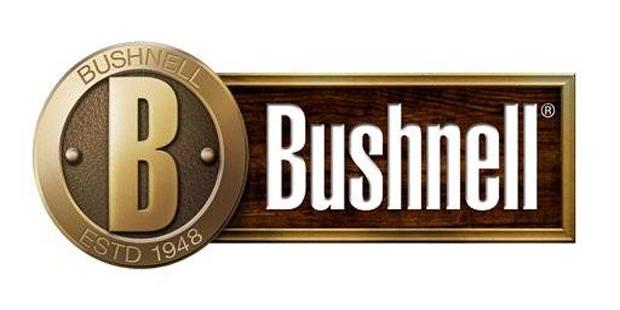 Logo de Bushnell, expertos en óptica de tiro y caza: visores, prismaticos, telescopios, telemetros, monoculares, ...