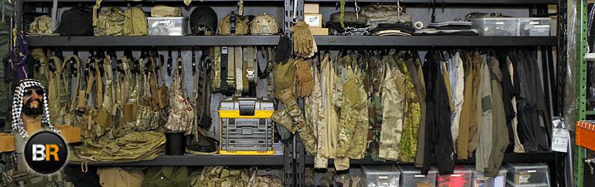 Aquí podrás comprar complementos militares