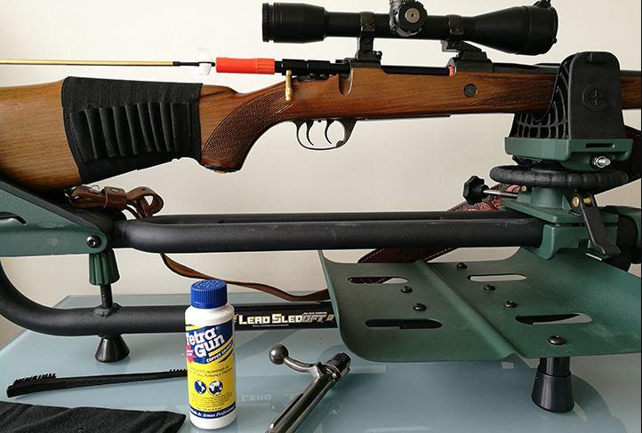 Materiales de limpieza para armas