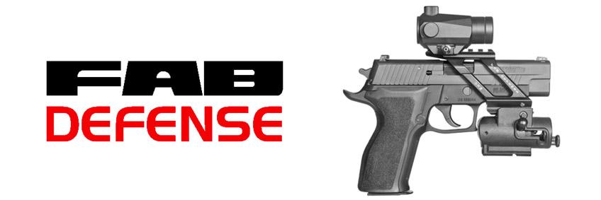 Nuestros Accesorios de pistola Fab Defense