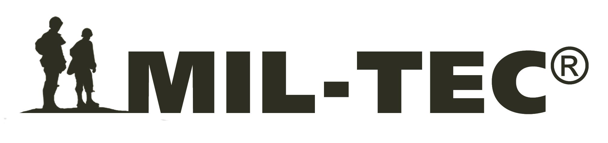 Logo de Miltec: expertos en equipo militar, accesorios de supervivencia