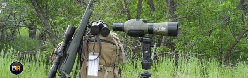 Un equipamiento completo no puede prescindir de catalejo durante el tiro
