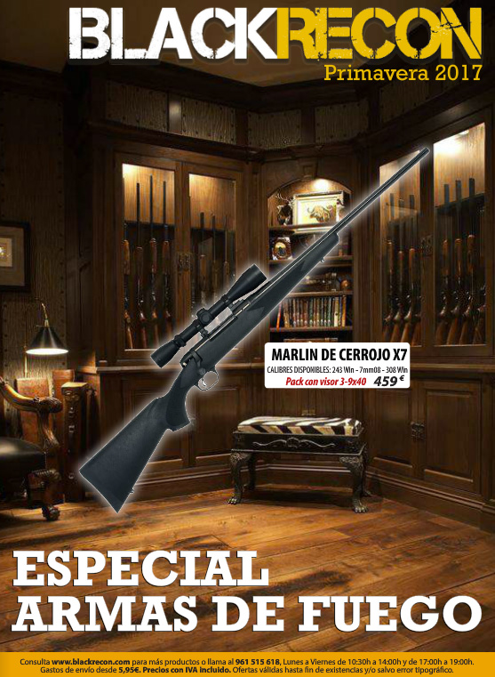 Catálogo de armas Blackrecon 2017