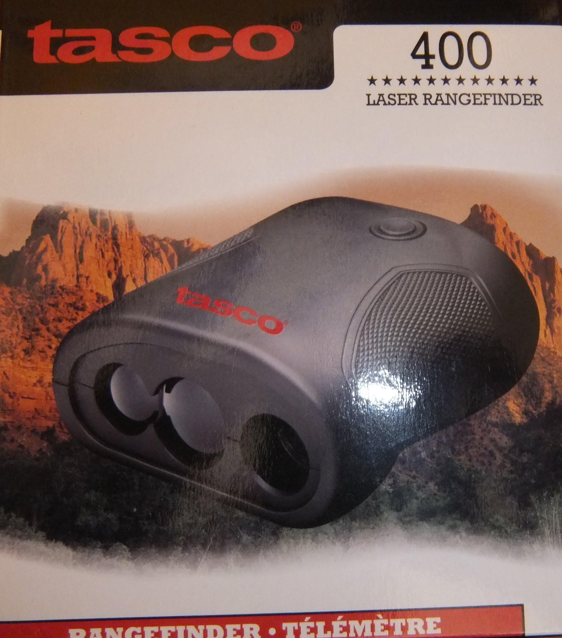 Imagen de la caja de un telémetro Tasco