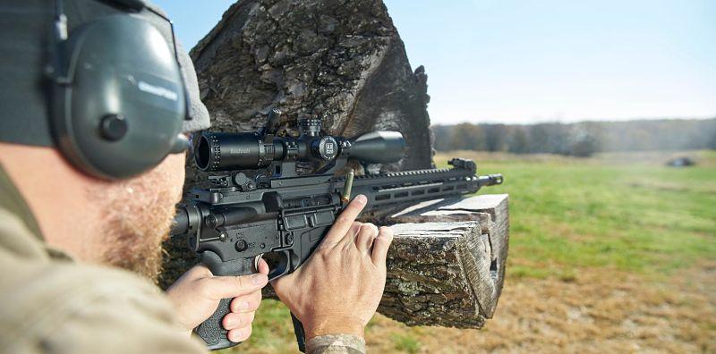 Visor IPSC Rifle Bushnell AR