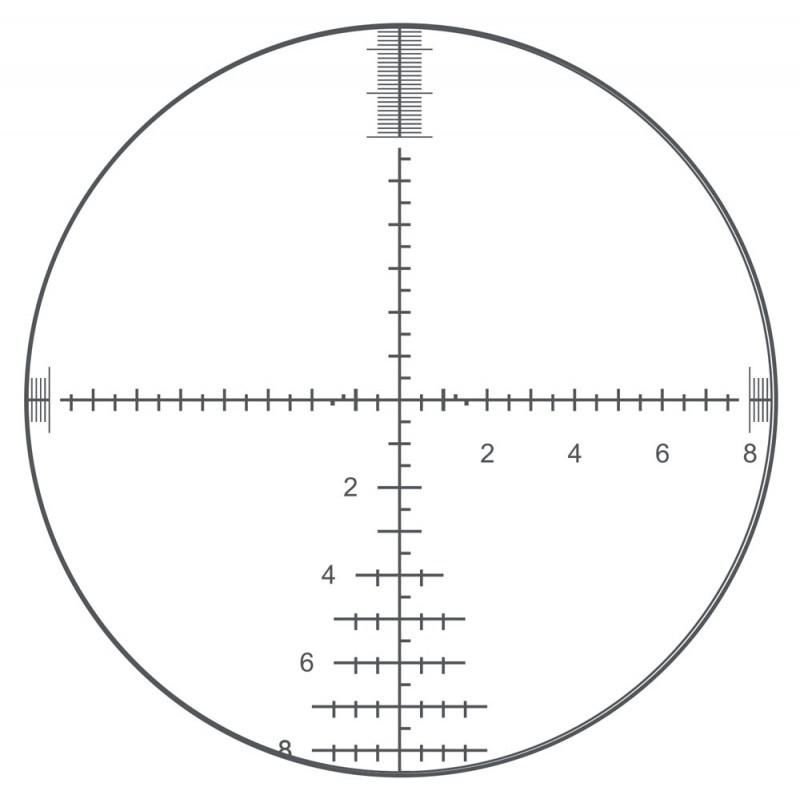 visor bushnell elite tactical dmr ii reticula g3 primer plano focal