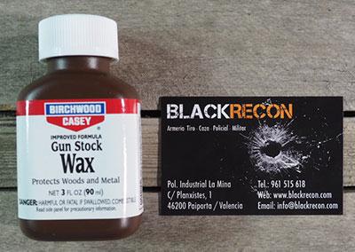 Gun Stock Wax para culatas