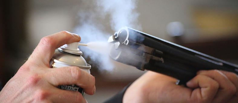 Aceite antioxido para armas