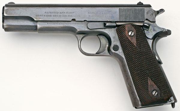 Colt 1911 con una gran historia