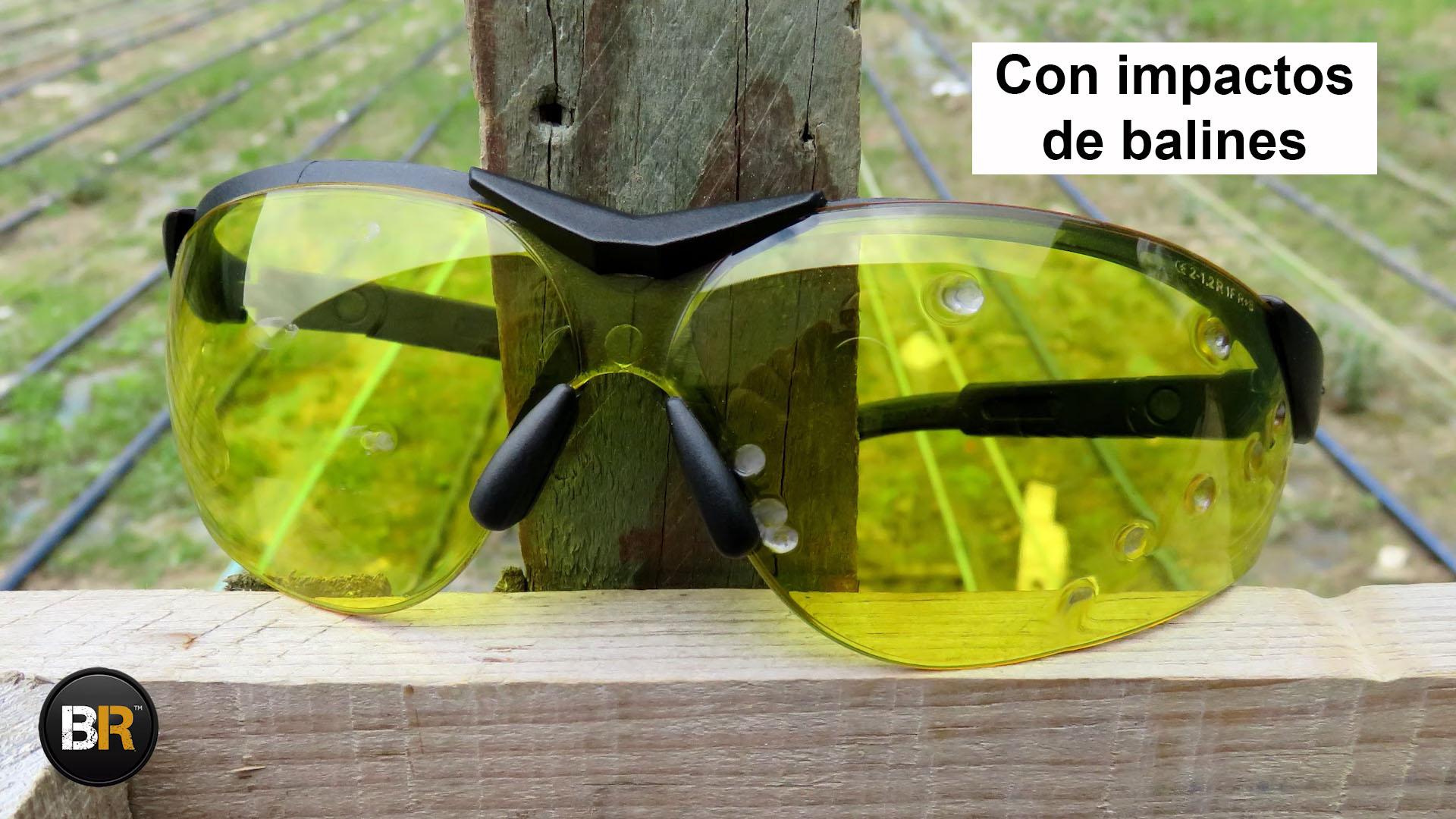 gafas proteccion balistica