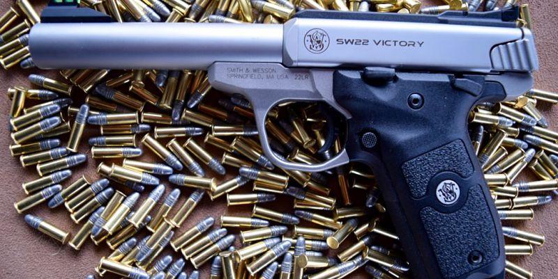 Pìstolas calibre 22 para tiro deportivo