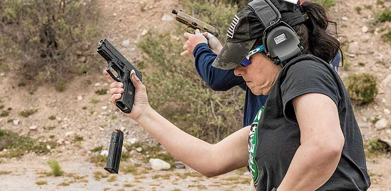 Pistola 9mm tiro deportivo