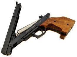 pistola balines muelle