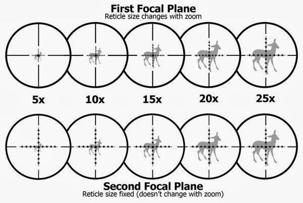 primer plano focal