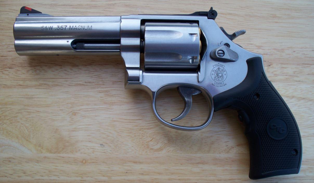 Revólver Magnum al detalle