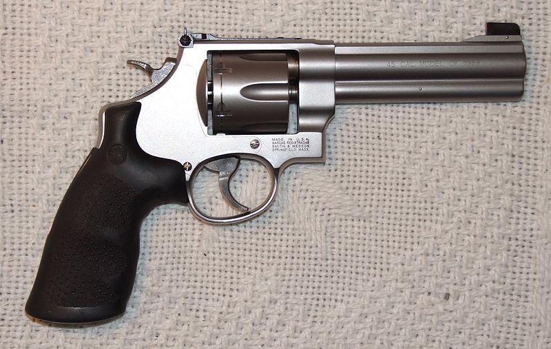 Revólver Smith & Wesson al detalle