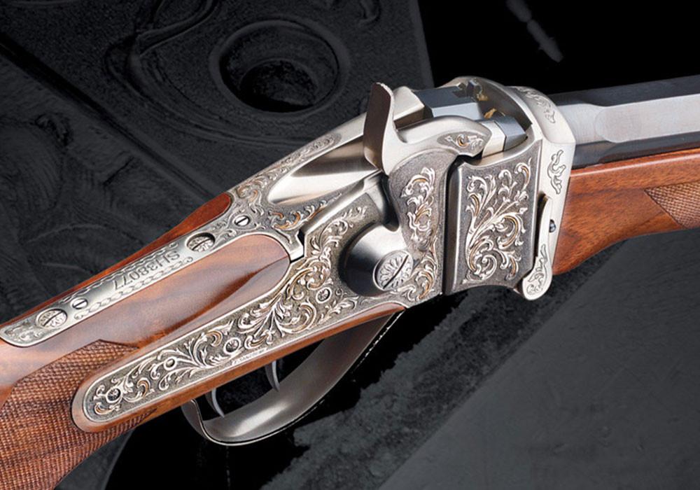 El rifle avancarga considerado una obra de arte