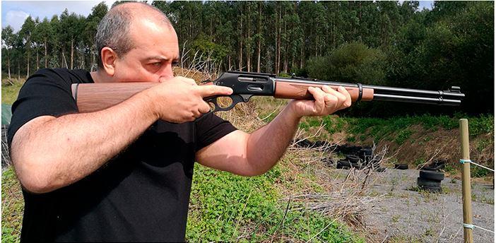 rifle batida monteria