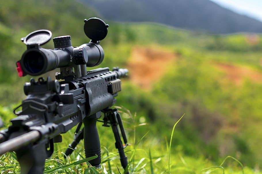 rifle francotirador semi-auto