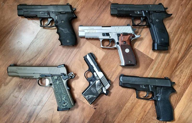 Tipos de pistolas