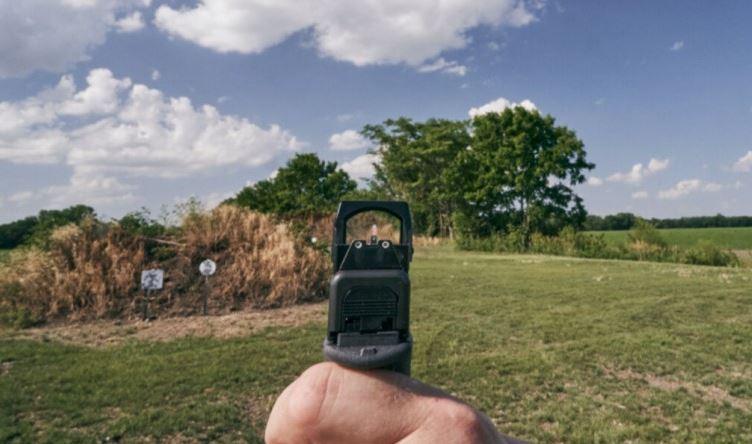 visor-bushnell-rxs-250-reflex-sight disparar